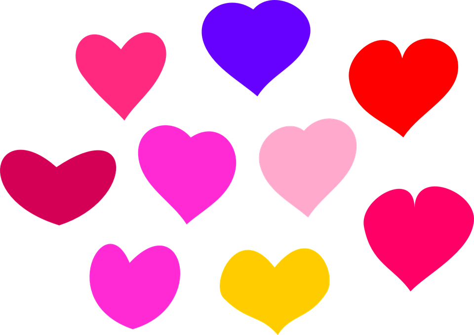 Free vector graphic: Hearts, Love, Heart, Valentine - Free Image ...