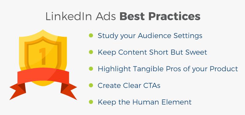 linkedin ads best practices