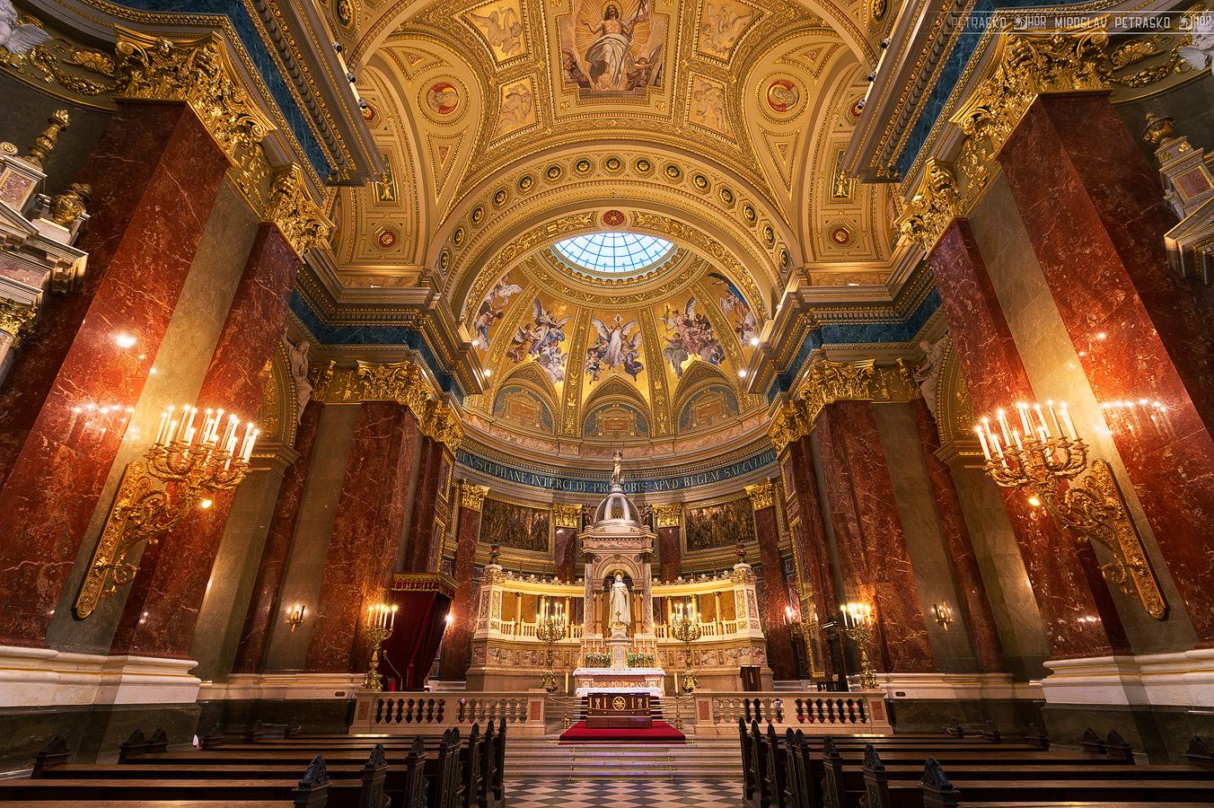 Vương Cung Thánh Đường Thánh Stê-pha-nô – thủ đô Budapest, Hungary