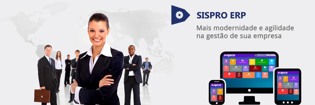 Sistema SISPRO ERP - Software de Gestão