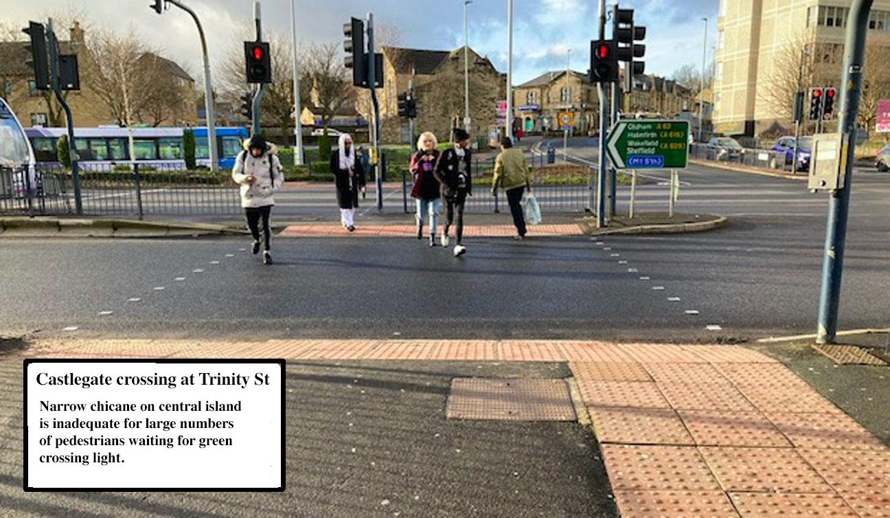People crossing a street  Description automatically generated with low confidence