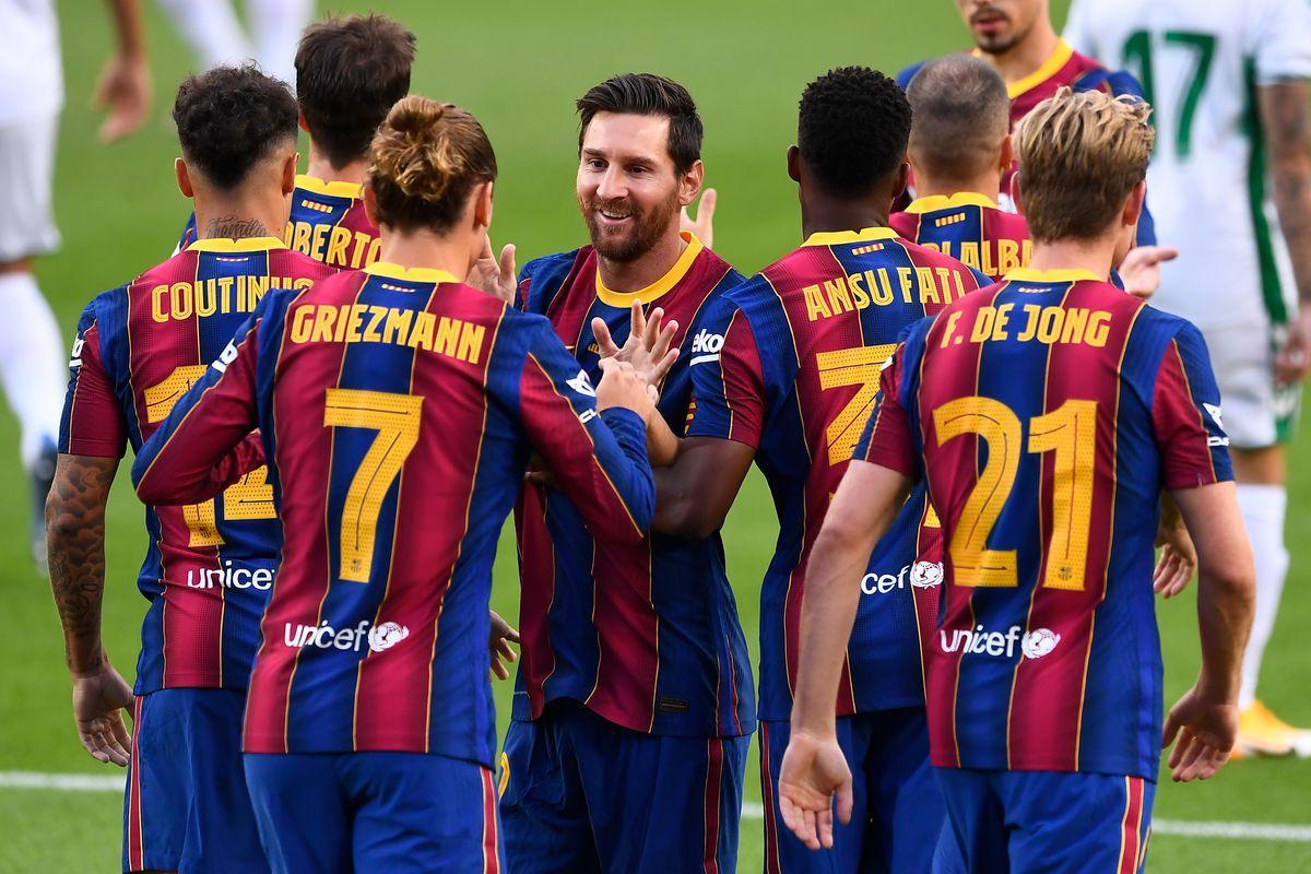 Barcelona cho thấy những dấu hiệu tích cực