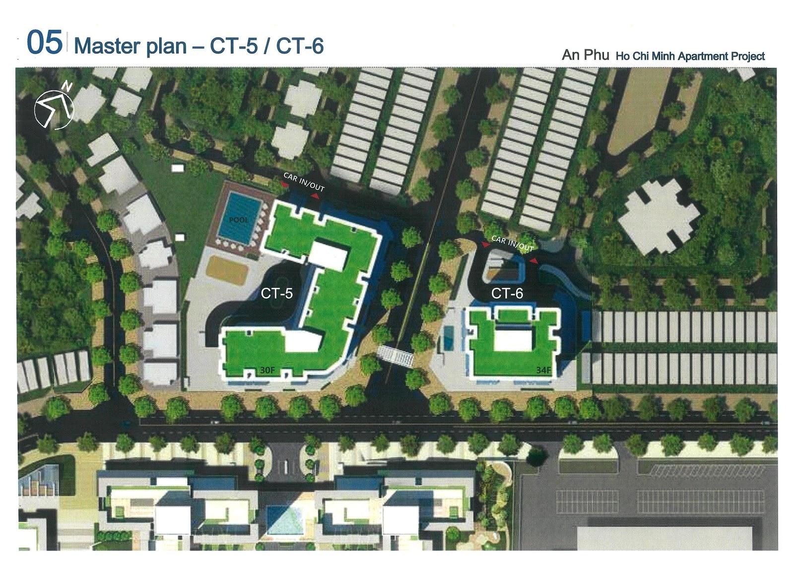 Mặt bằng cụm CT5-6 dự án Laimian City