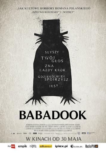 Polski plakat filmu 'Babadook'