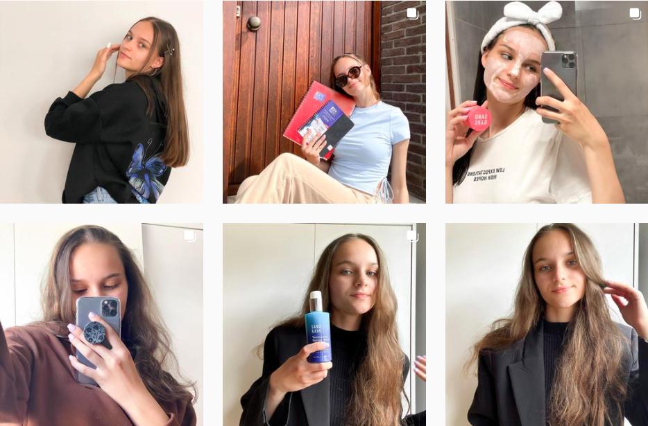 Adela Demeterova   Beauty and Fashion Influencer   Instagram Posts