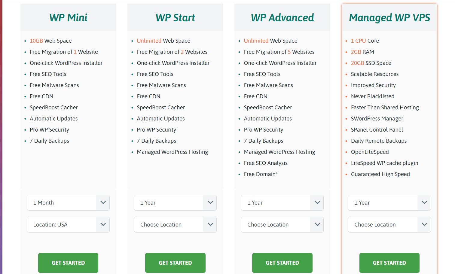 Đánh giá Scala Hosting - gói lưu trữ