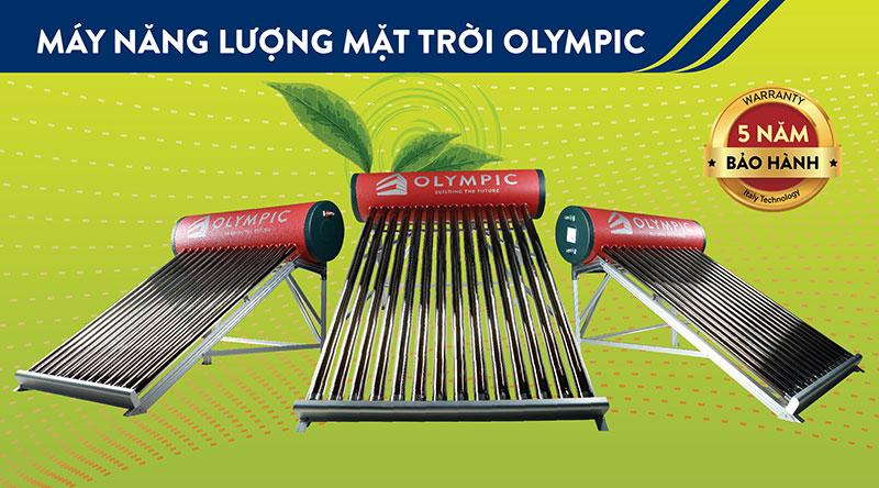 Chính sách bảo hành máy nước nóng năng lượng mặt trời Olympic tốt thuộc top đầu thị trường