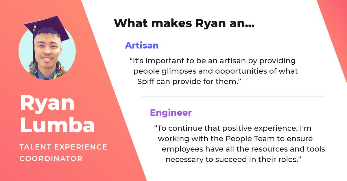ryan lumba talent experience coordinator