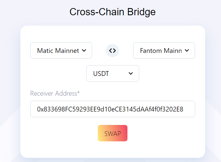 Fantom - Matic  bridge