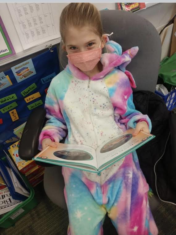 Reading month students