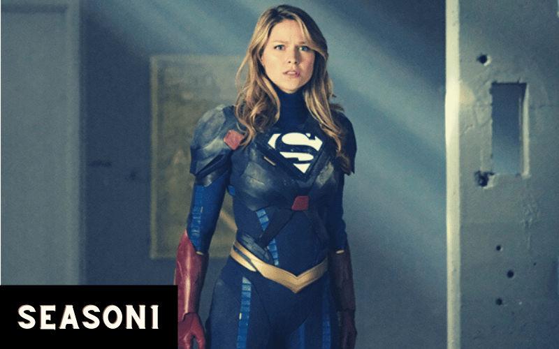 index of supergirl season 1