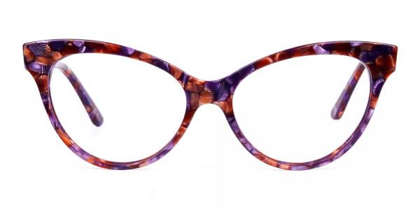 Tortoiseshell cat-eye glasses