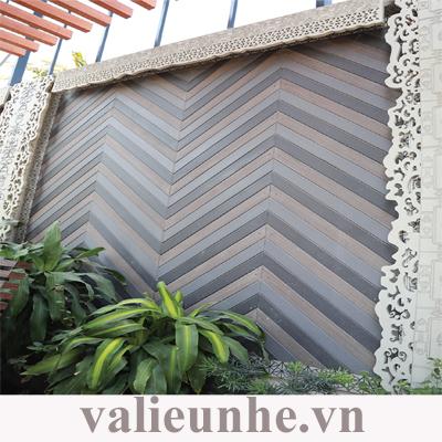Tấm ốp tường CNC Concretewood mang đến độ thẩm mỹ cao.