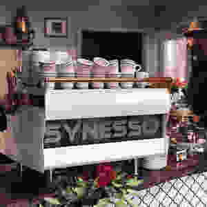 Synesso MVP Hydra. Eugene's best espresso machine.