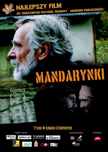 Przód ulotki filmu 'Mandarynki'