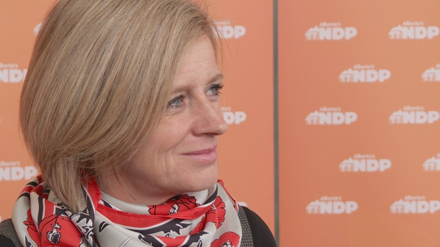 Rachel Notley stood by her party's election promises at an Oct. 29 meeting with the Provincial Council of Alberta's New Democrats.