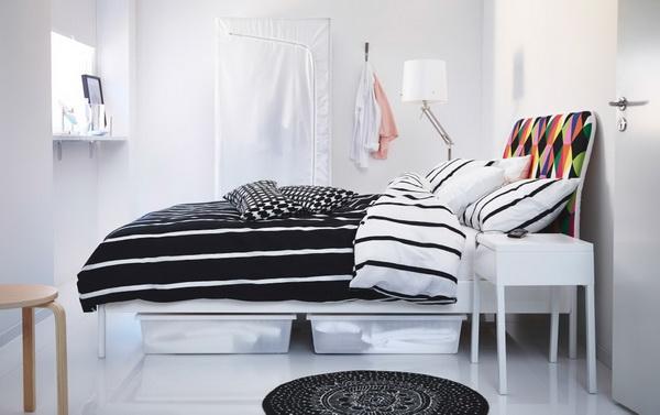 Giường ngủ thiết kế hiện đại cho không gian chật hẹp