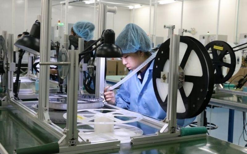 Nhà xưởng sản xuất linh kiện điện tử