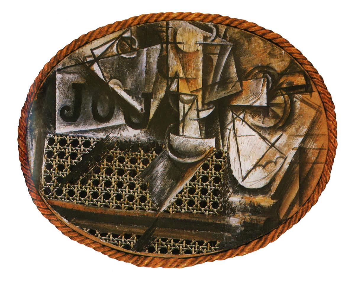 News letter la chaise dans l 39 art - Nature morte a la chaise cannee picasso ...