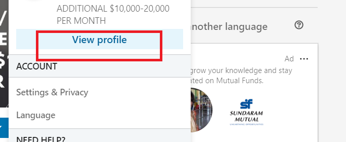 How to Hide Linkedin Profile