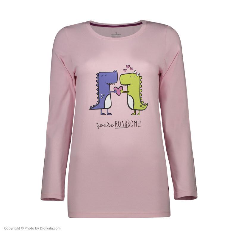 ست تی شرت و شلوار زنانه ناربن مدل 1521302-84