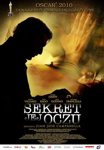 Polski plakat filmu 'Sekret Jej Oczu'