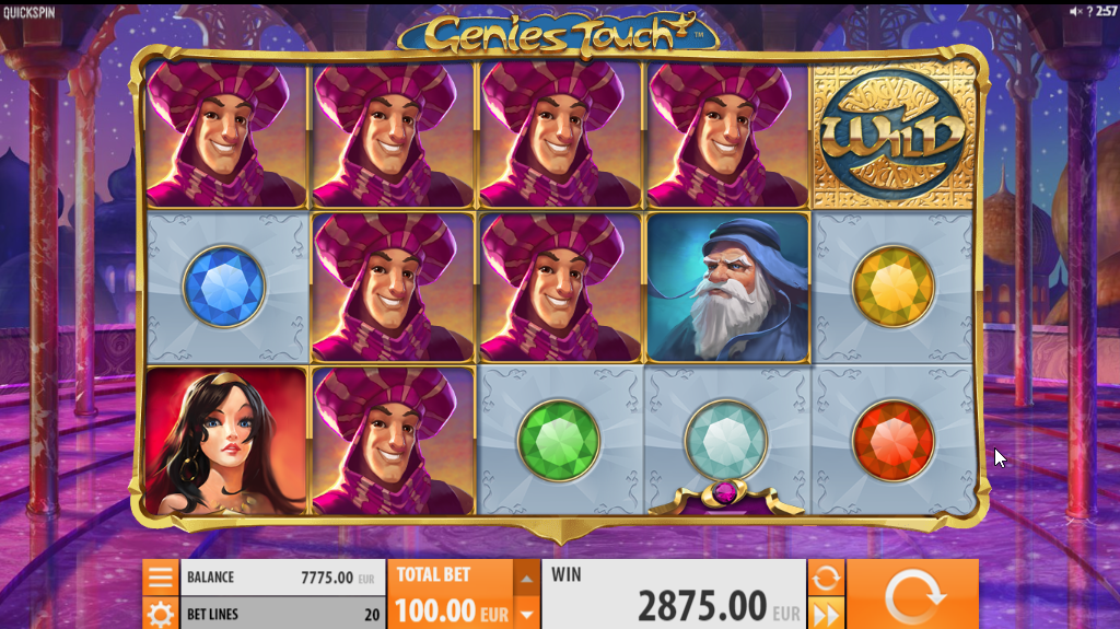 Genies Touch Slots Game Review