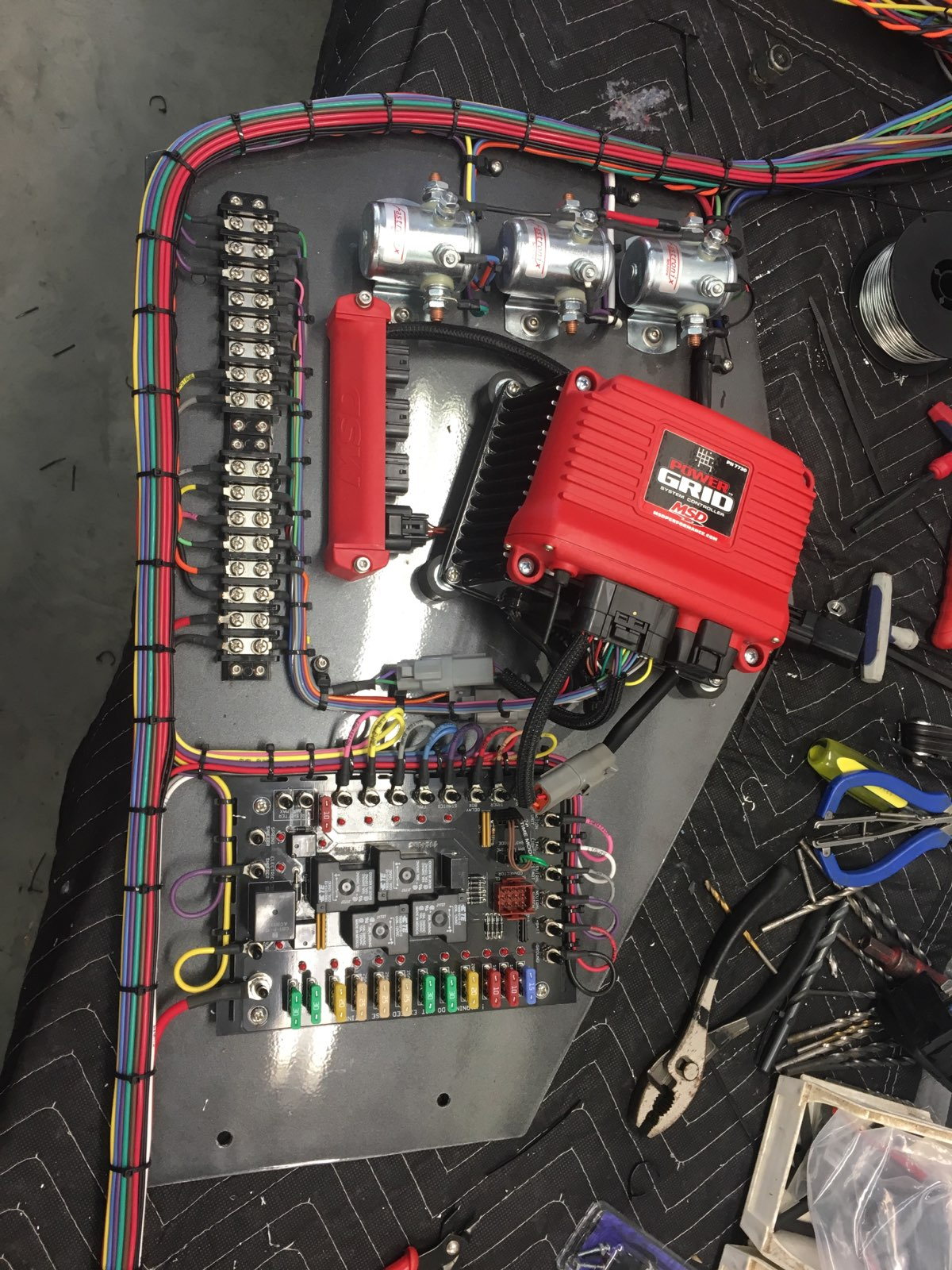 Starting to String Some Wire | This is Bracket Racing | Drag Race Wiring |  | This is Bracket Racing