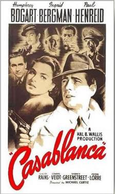 Casablanca poster.