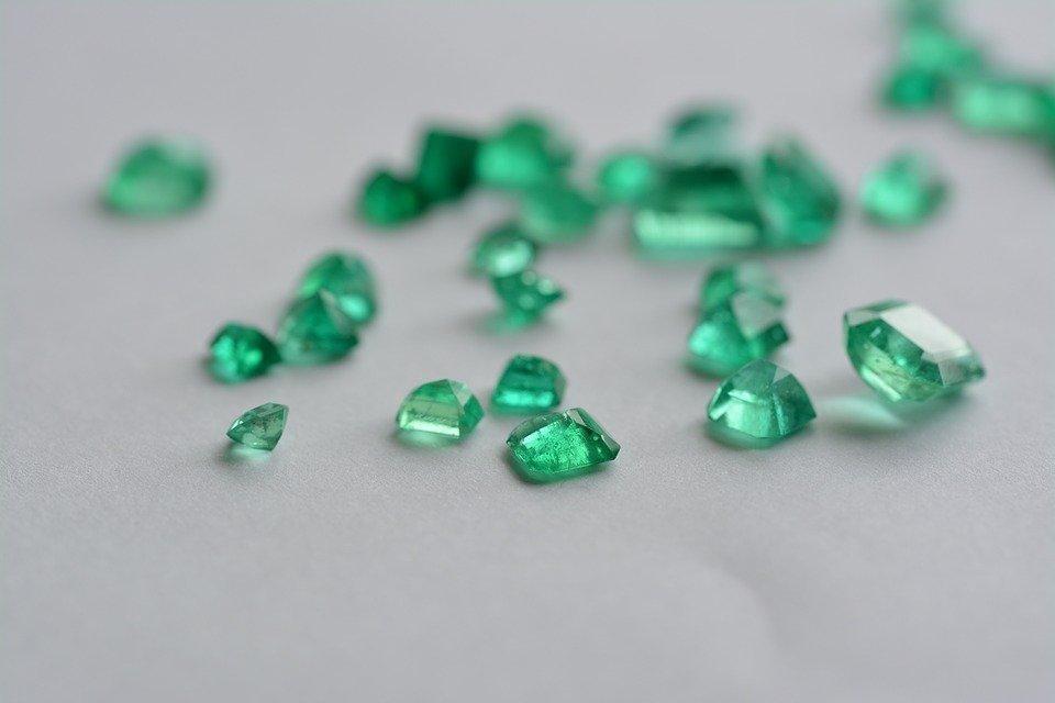 Gem, Emerald, Stones