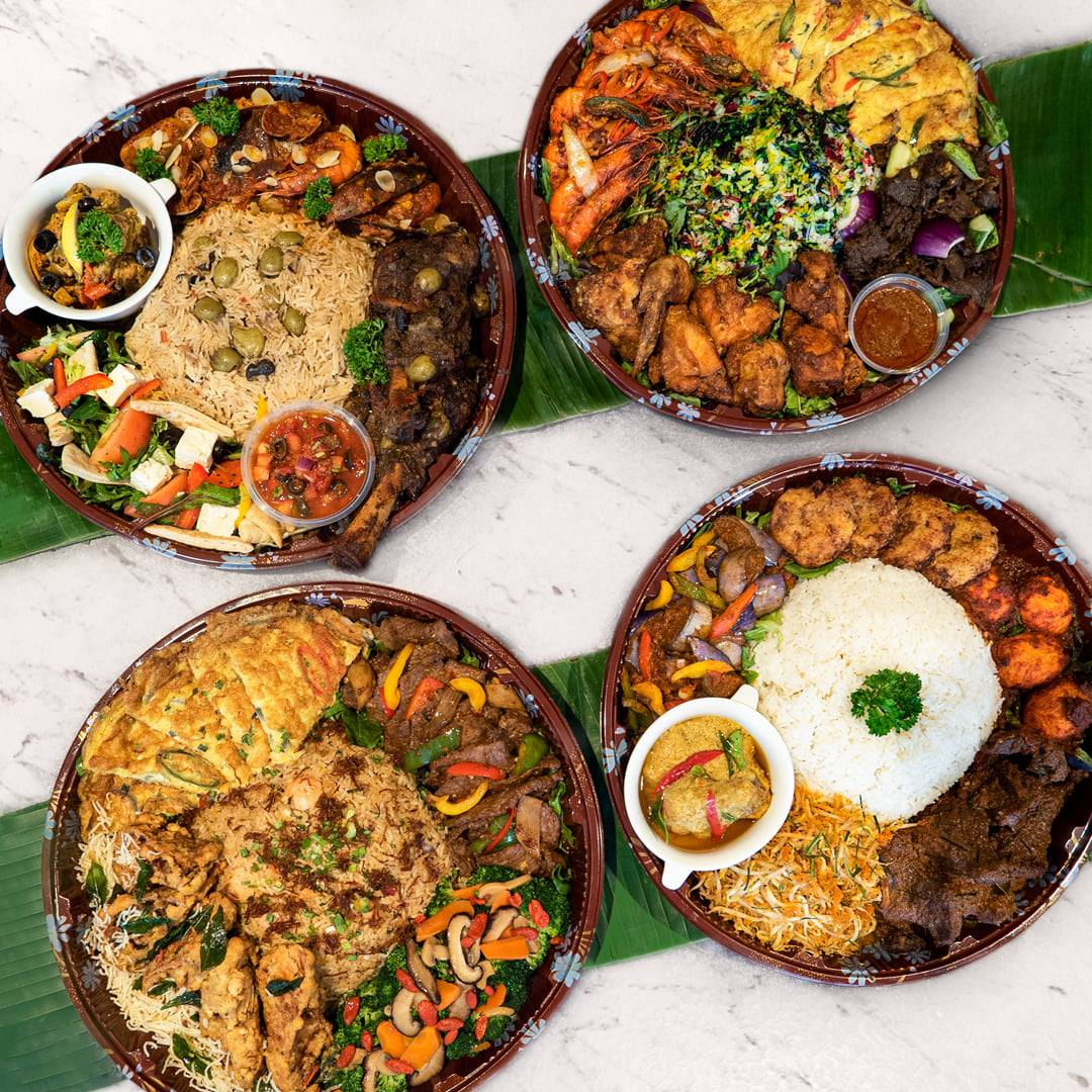 Dulang Father's Day Sets from Straits Cafe, delivered islandwide in Singapore, powered by Oddle