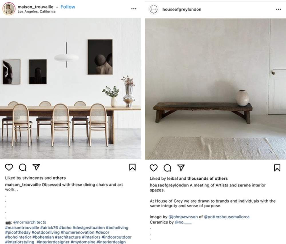 Repostowanie postów na Instagramie – zrzuty ekranu