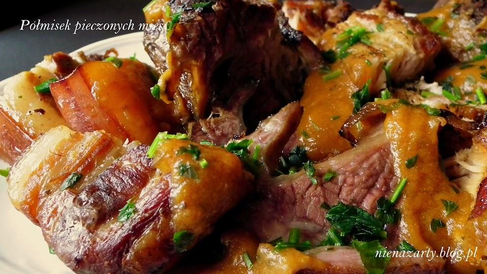 półmisek pieczonych mięs