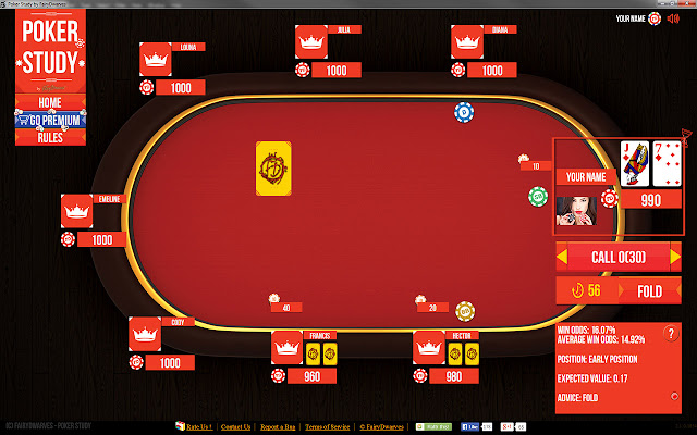 poker training software
