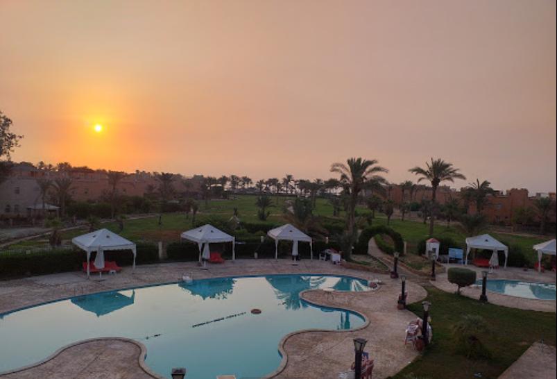 صورة فندق هورايزون العين السخنة وقت الغروب - فنادق العين السخنة 3 نجوم