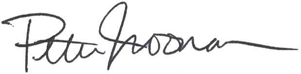 Signature of Peter Noonan