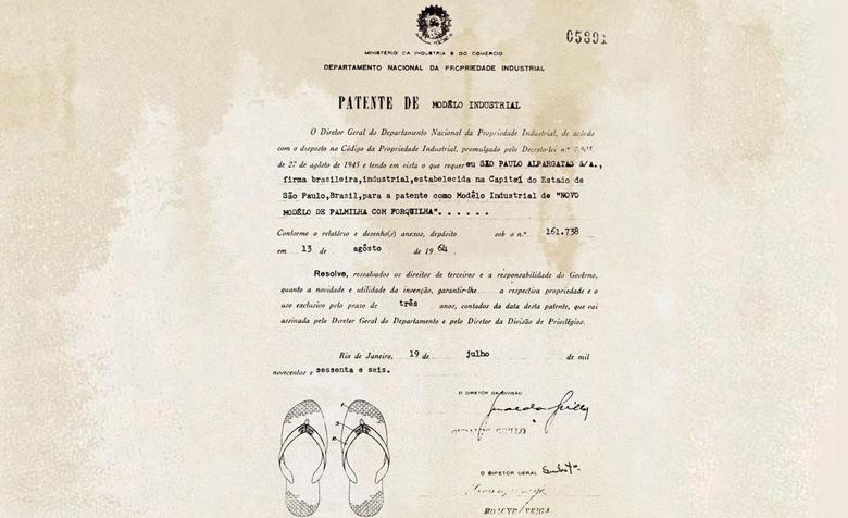 Havaianas Patent