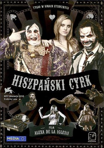 Przód ulotki filmu 'Hiszpański Cyrk'