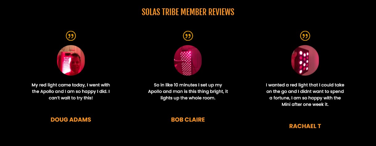 Solas Red Light Therapy Review