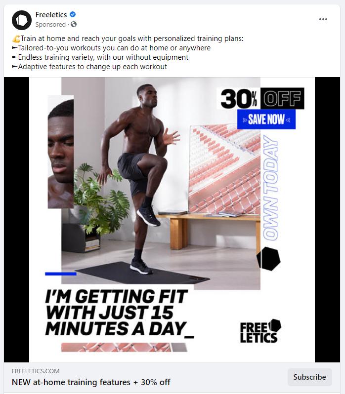 amazing ad copy example