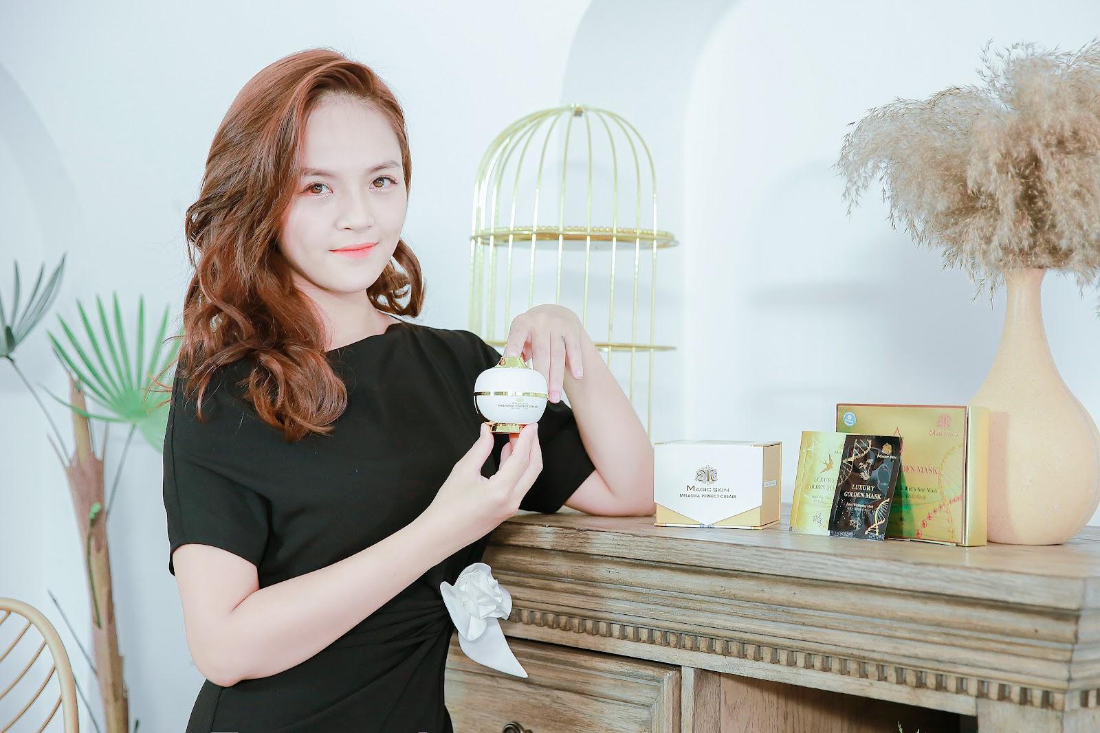 (Nữ diễn viên Thu Quỳnh cũng là khách hàng thường xuyên của Magic Skin