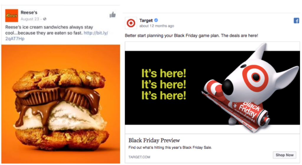 short facebook ad copy