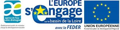 Cette opération est cofinancée par l'Union européenne. L'Europe s'engage dans le bassin de la Loire avec le Fonds Européen de développement régional.