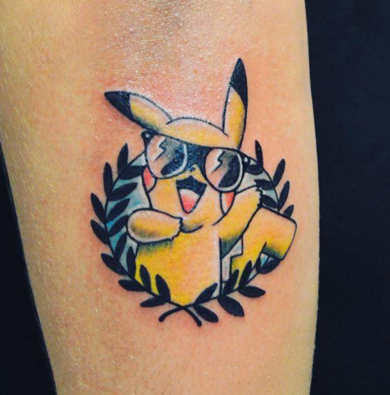 Pikachu Tattoos