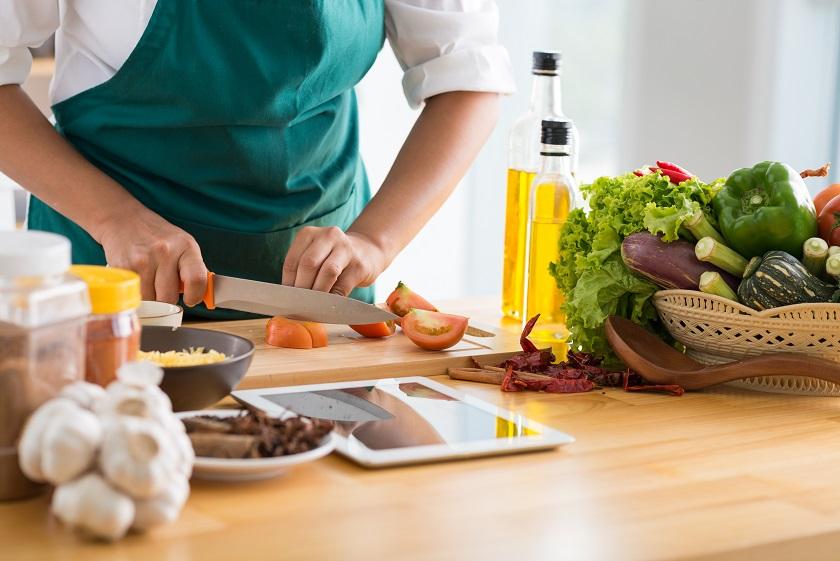 Nấu ăn ở nhà