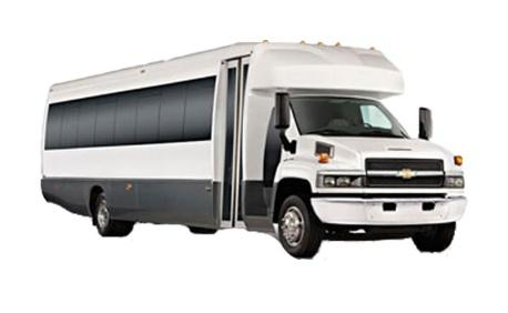 GMC 5500 Shuttle Bus