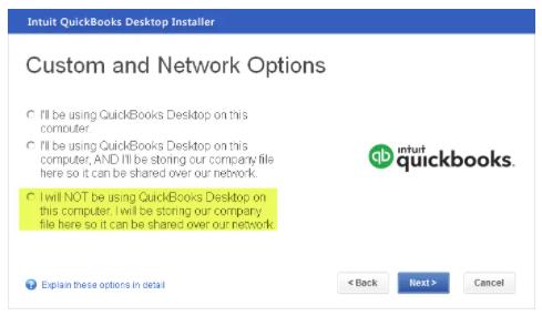 Re-installation of QuickBooks application