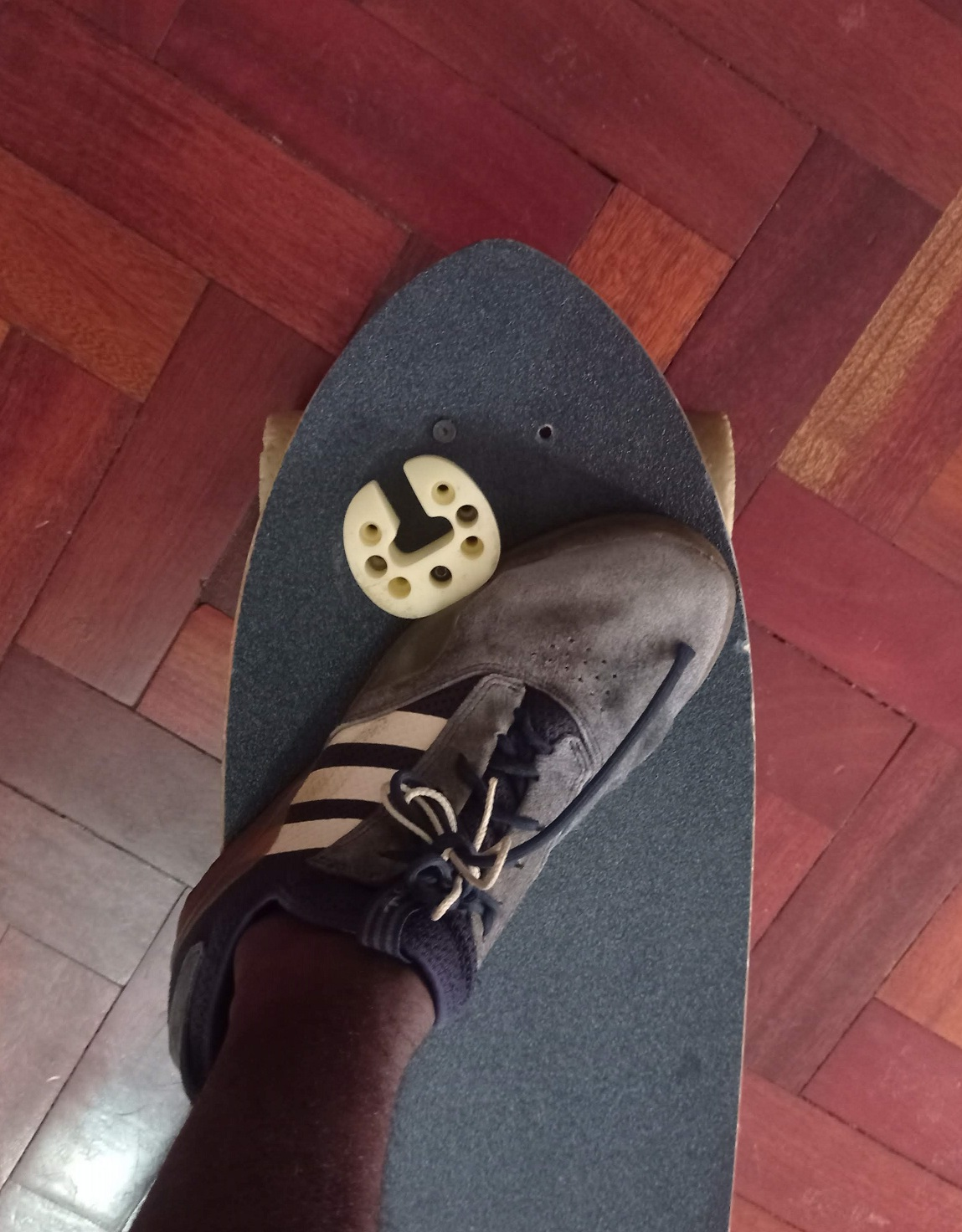 Foot position for freeride