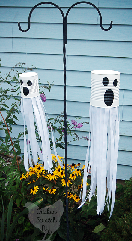 Ghost Windsocks: These 30 DIY Halloween Decorations That Are Wickedly Creative will save you money and allow your creativity to flourish
