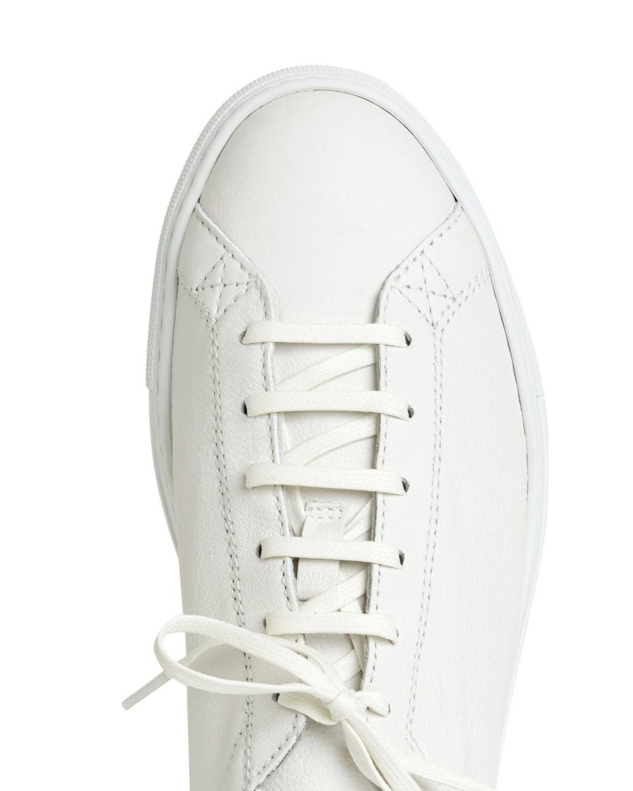 """CQP Racquet Sneaker White Leather"" รองเท้ามินิมอลสไตล์สแกนดิเนเวียน 02"
